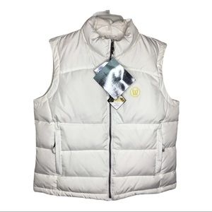 NEW! North End Down Filled Puffer Quilted Vest